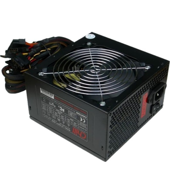 Chill CP-450F 450W ATX Power Supply, +85%