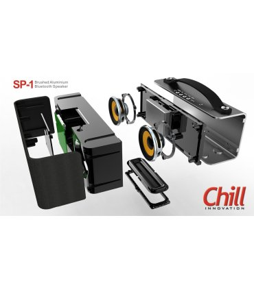 Chill SP-1 Trådløs Bluetooth 4.0 Alu Stereo Højtaler