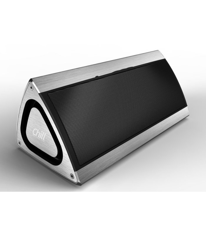 Fabriksnye Chill Fidelity trådløs Bluetooth 4.1 Stereo Højtaler, Aluminium, 3D WR-23