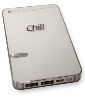 Chill 8000mAh Dual USB PowerBank, PB-8000W