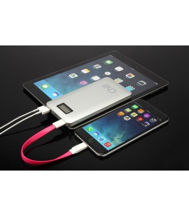 Chill 9000mAh Dual USB PowerBank, Aluminum, LCD, PB-9000