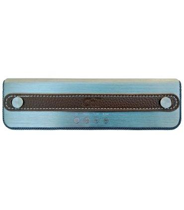 Mørke brunt læder håndtag til Chill SP-1 Bluetooth Højtaler