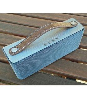 Dunkelbraune Lederhandgriff für Chill-SP-1 Bluetooth-Lautsprecher