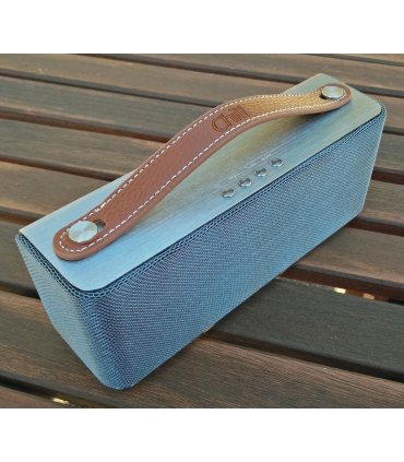 Light Brown leather handle for Chill SP-1 Bluetooth Speaker