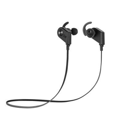 Chill V8 trådlösa Bluetooth 4.1 Sport In-Ear Hörlurar, Svart