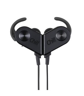 Chill V8 trådløse Bluetooth 4.1 In-Ear Sport Høretelefoner, Sorte
