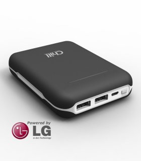 Chill 13400mAh Dual USB PowerBank, LG Li-ion, PB-13400