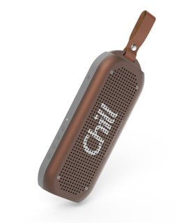 Chill A3 Vandtæt Bluetooth Aluminum Stereo Højtaler, Rusty/Coffee