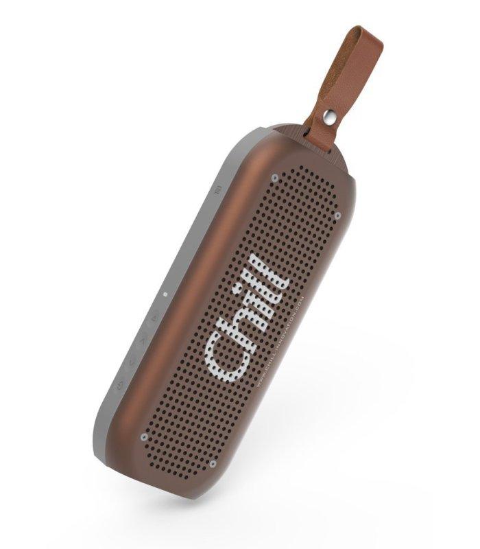 Chill A3 Bluetooth 4.1 Alu Stereo Højtaler, IPX7 Vandtæt
