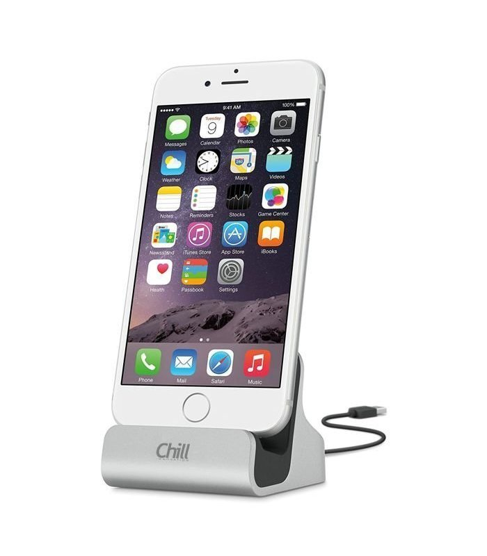 Chill Smartphone Charge+Sync Dock (iPhone / Micro-USB / Type-C)