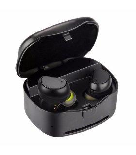 Chill TWS kabellose Bluetooth Kopfhörer mit Ladungbox, Schwarz