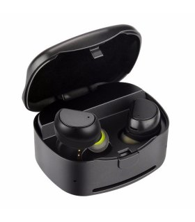 Chill trådlöse TWS Bluetooth hörlurar med laddningsbox, Svart