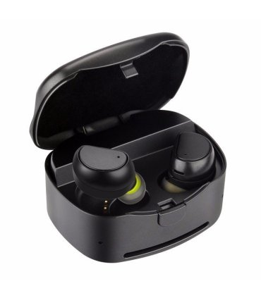 Chill TWS trådløse Bluetooth øretelefoner med ladeboks, svart