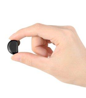 Chill trådløse TWS Bluetooth 4.1 Sport øretelefoner med ladeboks, svart