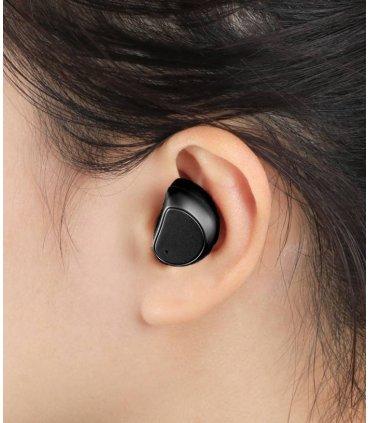 Chill kabellose TWS Bluetooth 4.1 Sport Kopfhörer mit Ladungbox, Schwarz