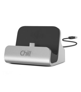 Chill Smartphone Docking Stand (iPhone / Micro-USB / USB-C)