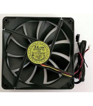 135mm Yate Loon Blæser m/ RPM monitor til bl.a. Chill CP-1000M ATX Strømforsyning