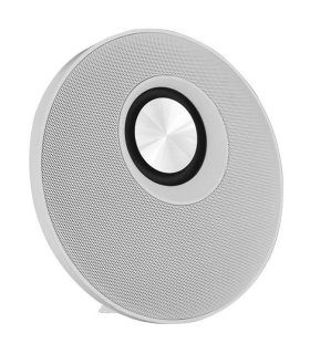 Chill Fidelity E50 Wireless Bluetooth Stereo Speaker, White