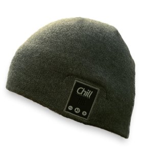 Chill lue (eks. bluetooth headset), grå