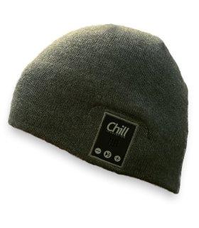 Chill Vinterhue (uden bluetooth headset), Grå bomuld