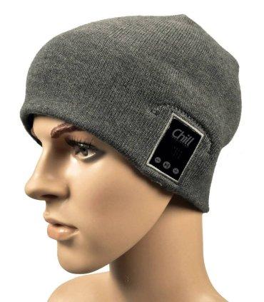 Chill trådløs Bluetooth høretelefon musik hue, Grå bomuld