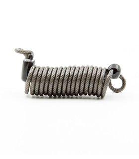 Chill kraftig spiral stålwire / låsekæde til fastgørelse/tyverisikring