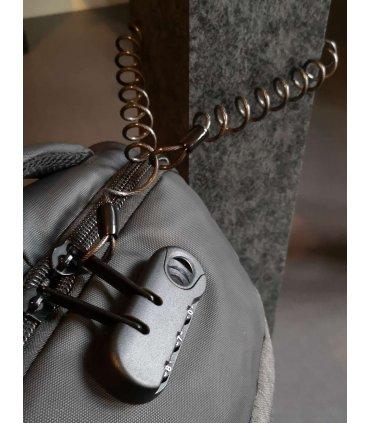 Chill spiral stål wire for feste / tyveri beskyttelse