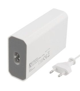 Chill Deltaco 4-portars USB Laddstation, USB-C, 5V/8A (40W), Smart-IQ, EU