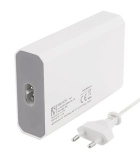 Chill Deltaco 6-portars USB Laddstation, USB-C, 5V/12A (60W), Smart-IQ, EU