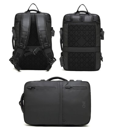 "Chill Fusion 17"" Laptop Business Bag & Backpack in one"