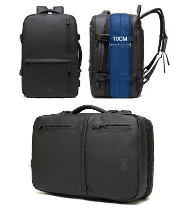 "Chill Fusion 17"" vandafvisende Computertaske & Rygsæk i én"