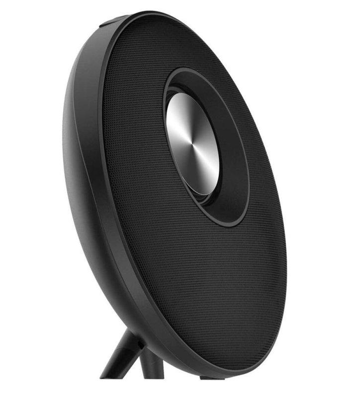 Chill Fidelity E50 rund trådløs Bluetooth Stereo Højtaler, Sort